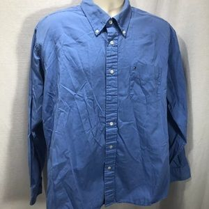 Tommy Hilfiger Button Down XLarge Collared Blue
